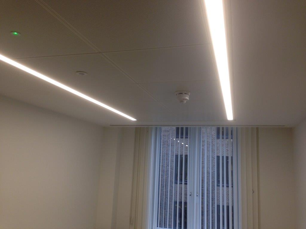 Integration of LED to ceiling bespoke